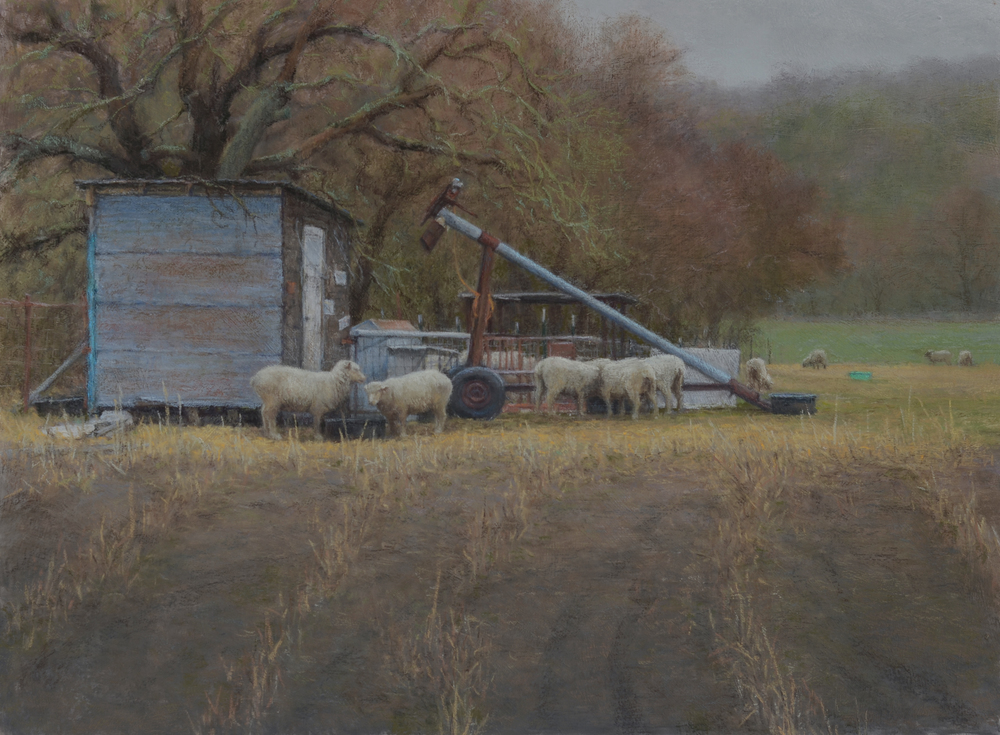 The Hope of Spring  - 18x24 inches, pastel  SOLD