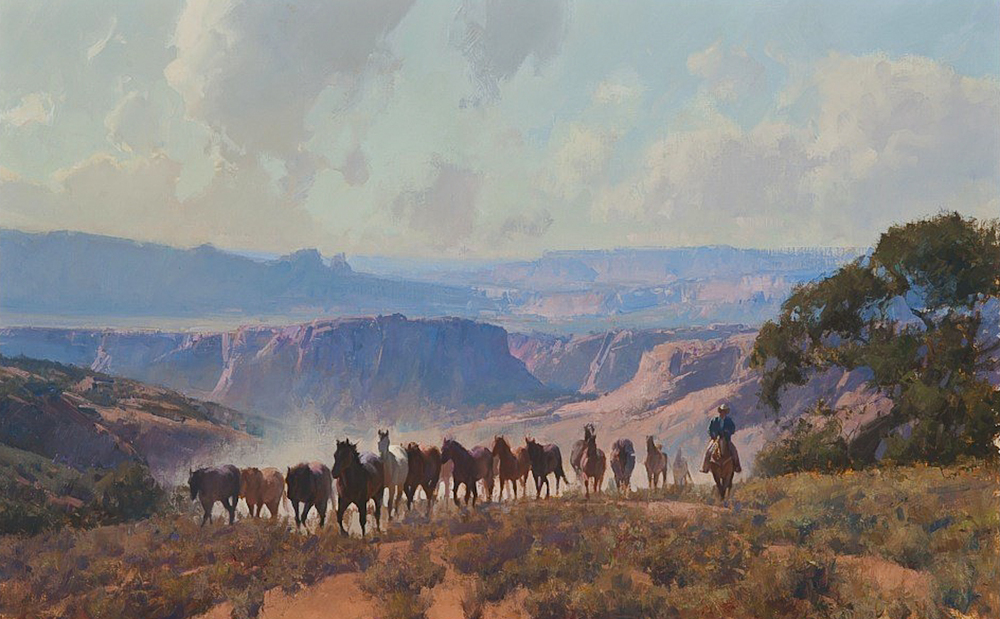 The Great Southwest  - 30x48 inches -  SOLD