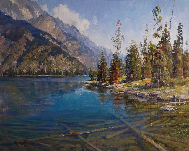 Crystal Teton Waters - 24x30 inches - $12,000
