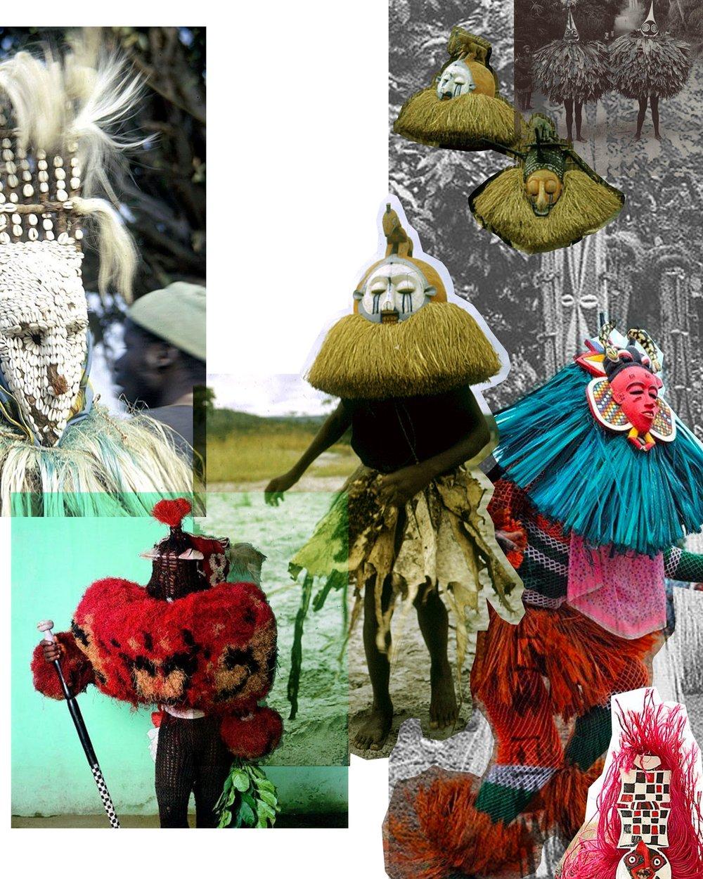 Concept Board 2: Tribal Culture/Rituals and Costume