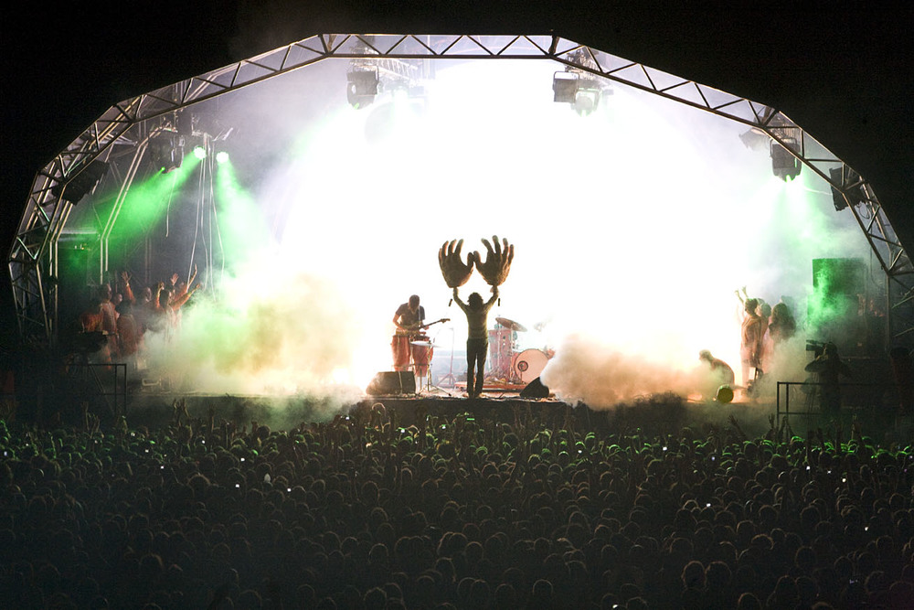 The Flaming Lips at Green Man Festival