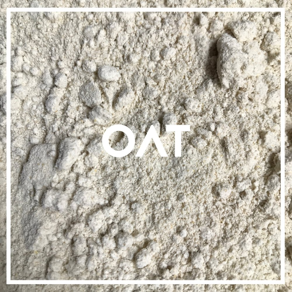 Our organic whole grain oats are grown by family farmers within about 70 miles of Effingham, IL, where they are stone milled at Hodgson Mill.  Used in: White Knight Originally cultivated from a wild weed, oats lend baked goods sweet, round, vanilla-like flavors, and a light, delicate crumb.