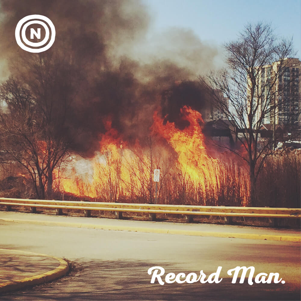 Record Man - Our third single produced by Jeff Wardell, released on January 1st 2017.