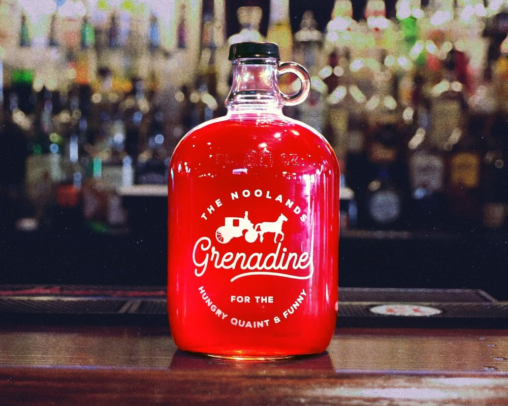 For the hungry, quaint & funny! - Grenadine is inspired by the people you always want by your side, in good and bad times. Facing the dark things in life is tough enough without something sweet to wash it down!