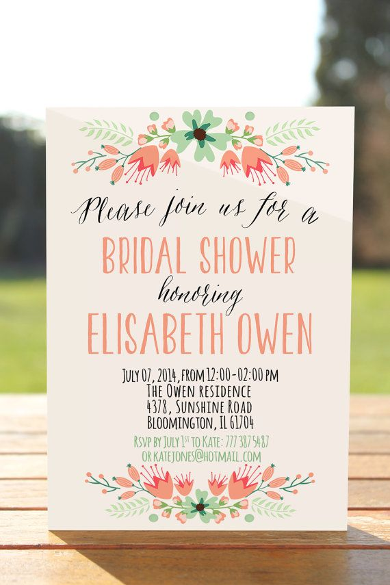 Planning a bridal shower on a budget villa st clair invitations filmwisefo
