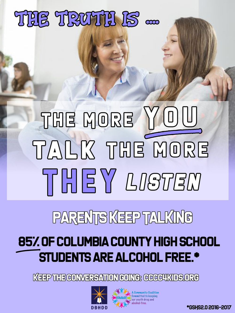 Check out these resources to help you start—and keep up—the conversation about the dangers of drinking alcohol at a young age. -