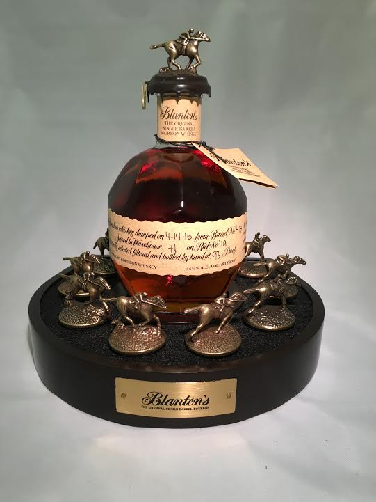 Blanton S Bourbon Bottle Glorifier Display Blanton S