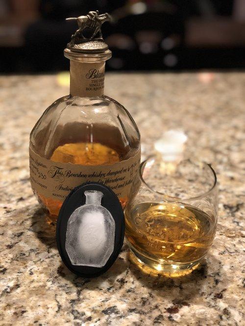 e01039ad163c3 Blanton s Bourbon Bottle Ice Mold