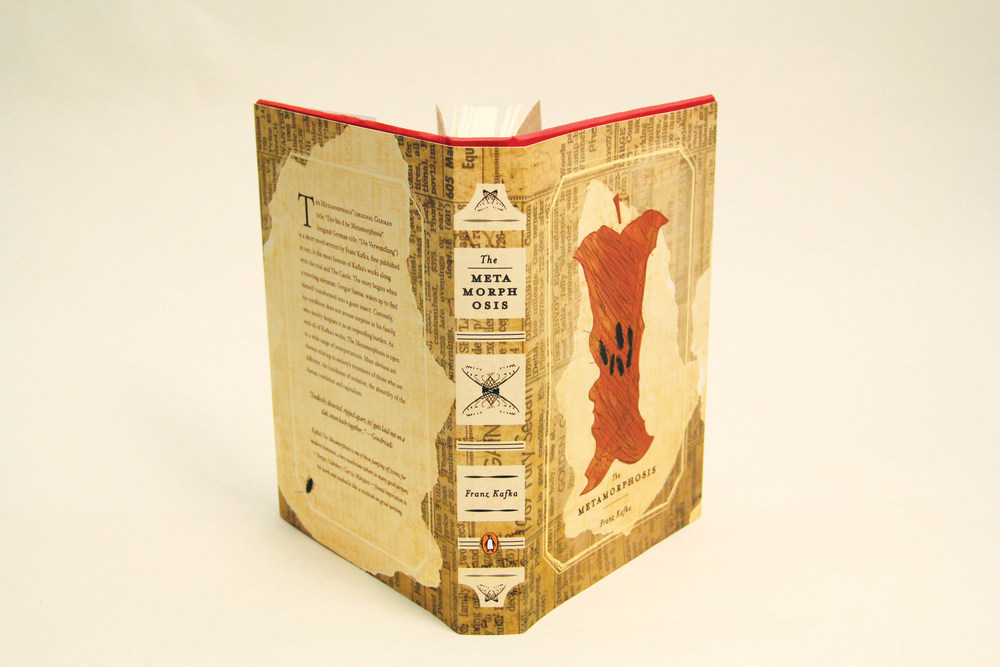 The Metamorphosis book spine