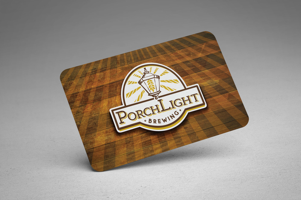 PorchLight Brewing Co. Business Card