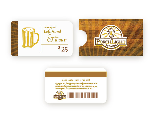 PorchLight Brewing Co. Gift Card