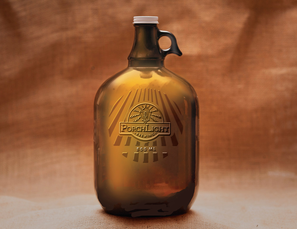 PorchLight Brewing Co. Growler