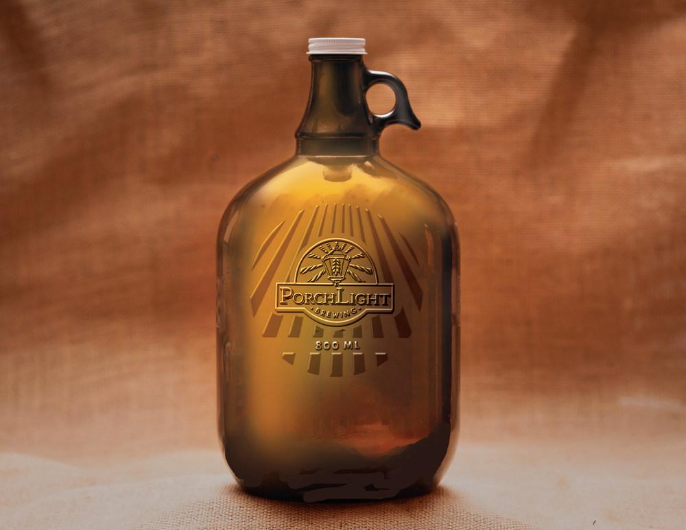 PorchLight Brewing Co. Growler