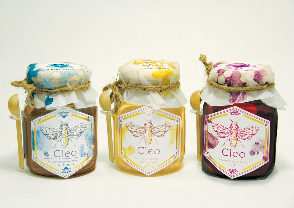 Cleo Honey Front Container Art