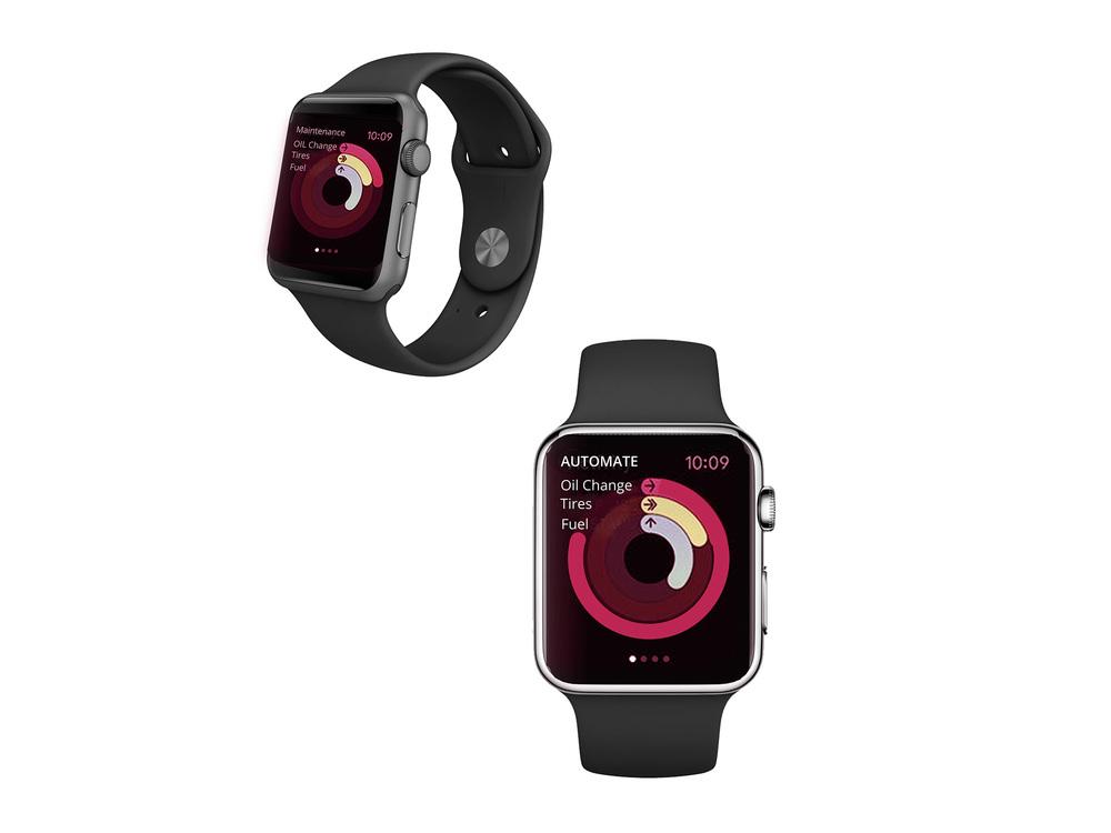 Apple Watch Tracker