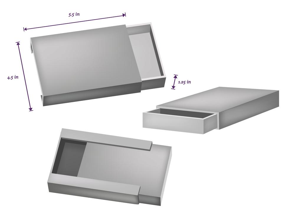 Fem Wireframe mockup design by Caroline Staniski