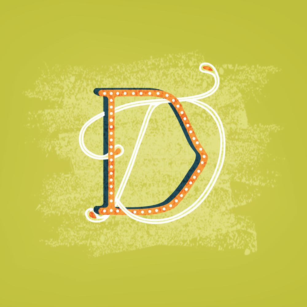 Letter D Design #3