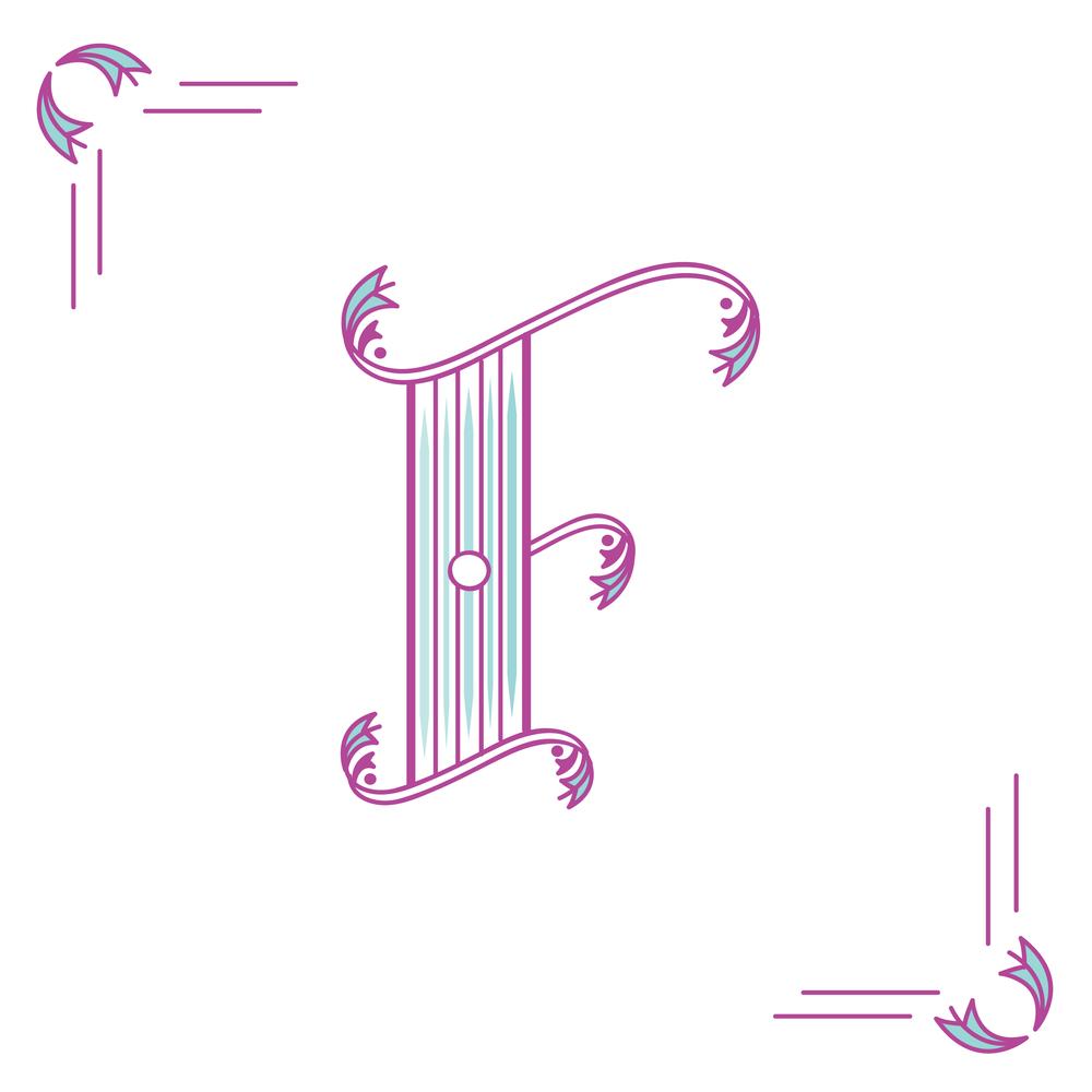 Letter F Design