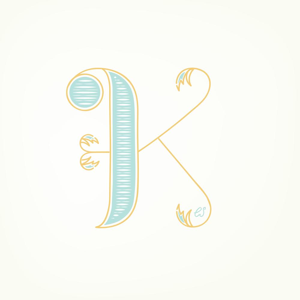 Letter K Design