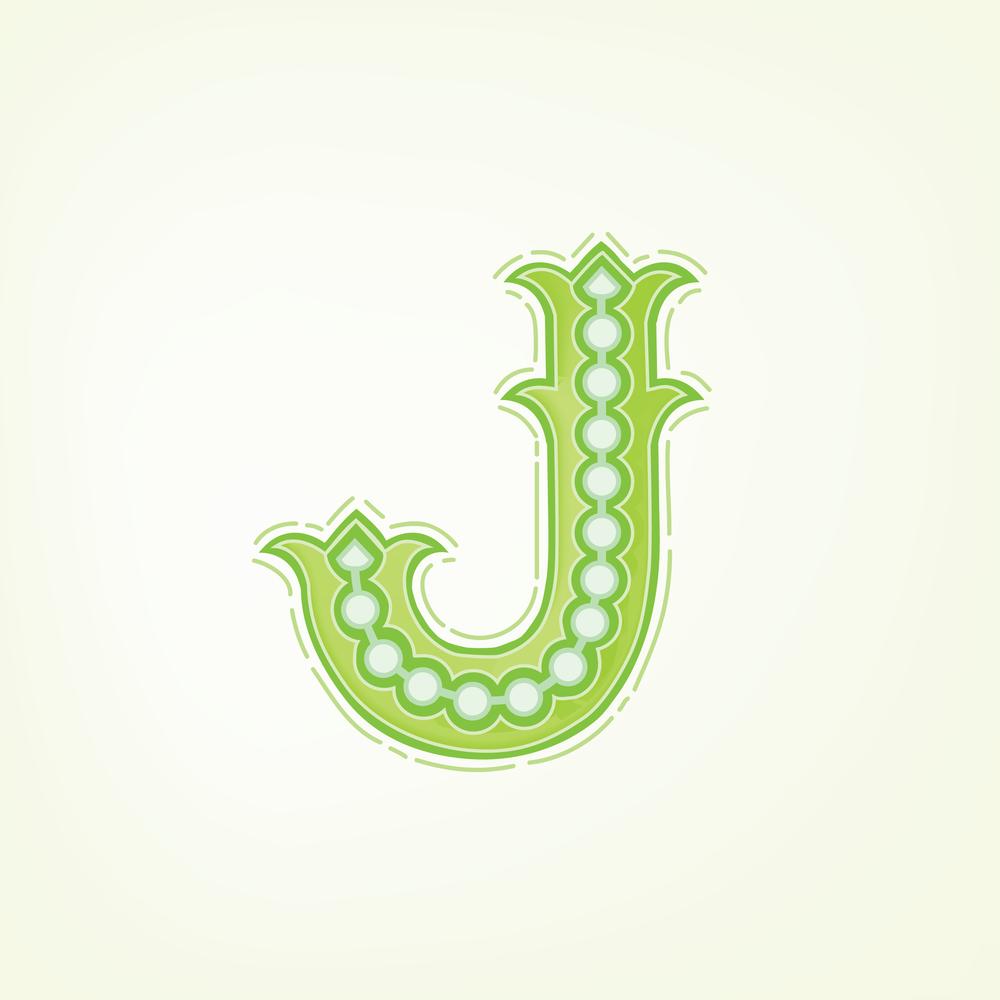 Letter J Design #2