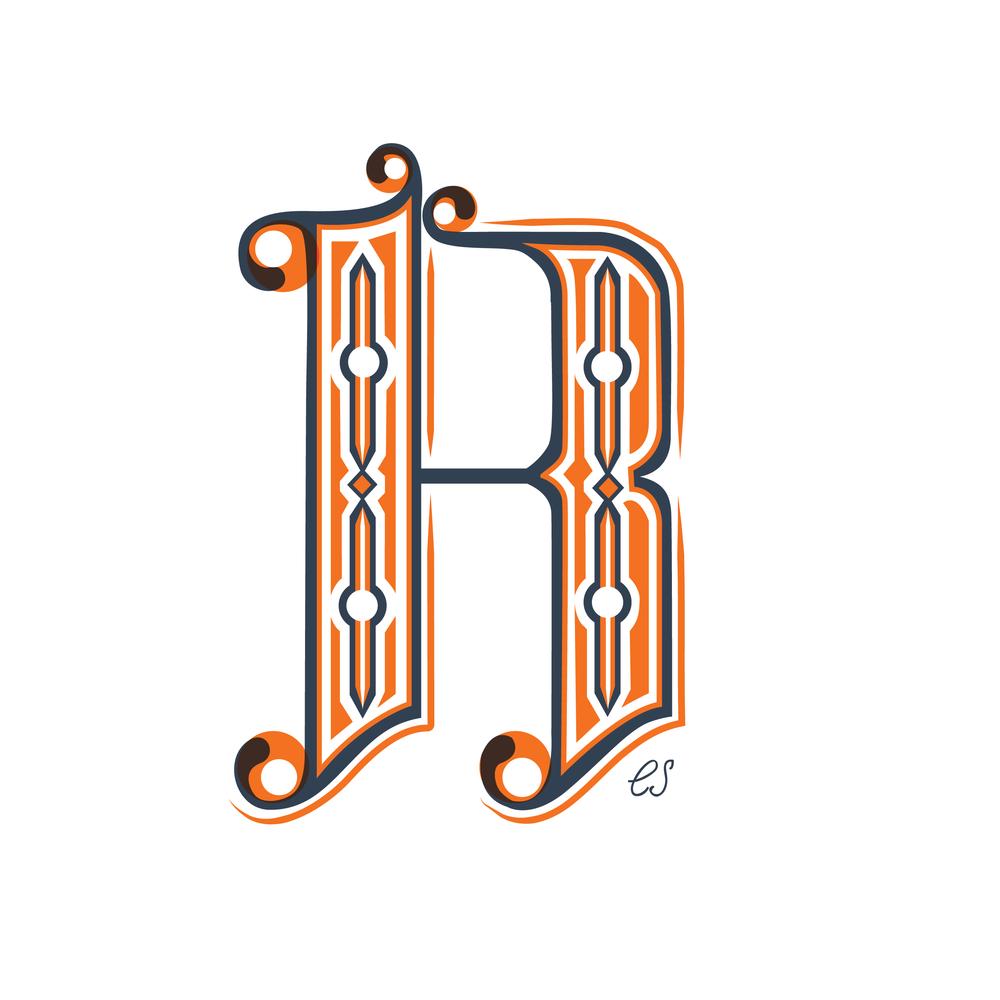 Letter R Design