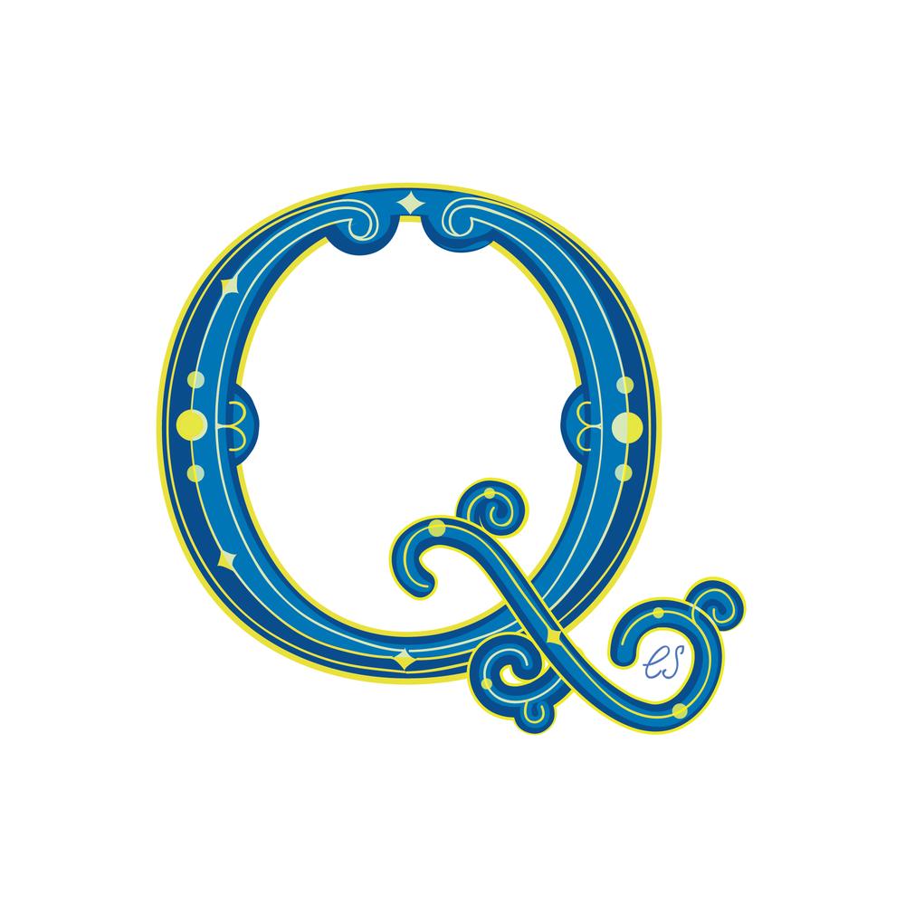 Letter Q Design