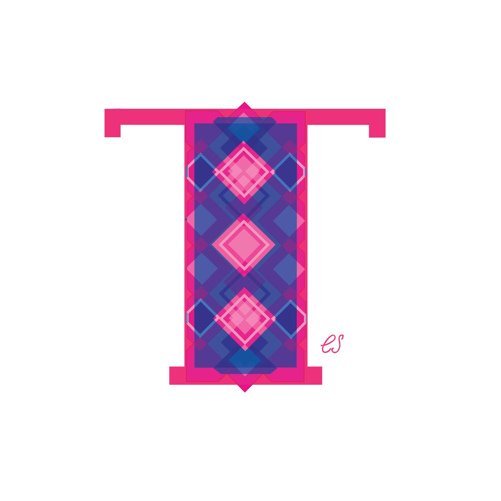 Letter T Design