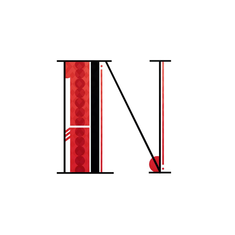 Letter N Design #2