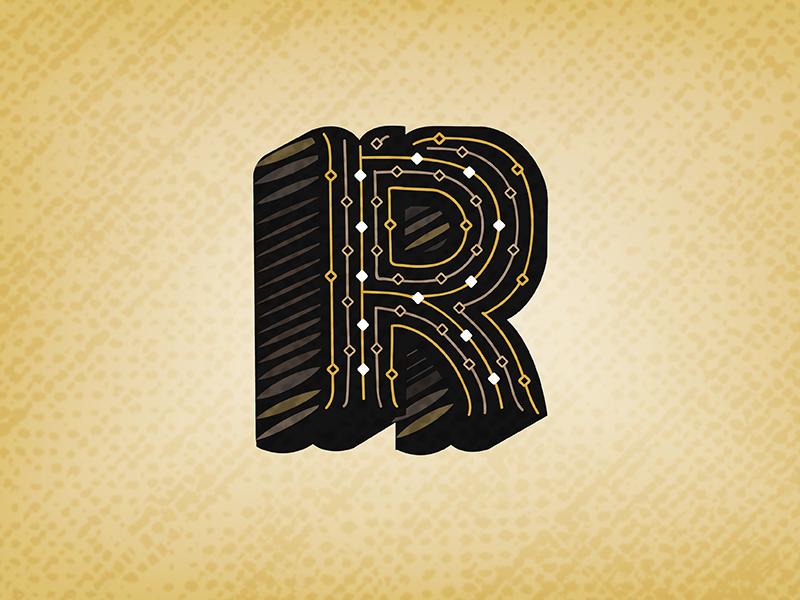 Letter R Design #2
