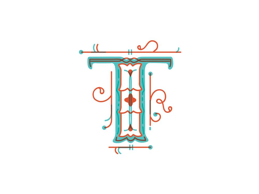 Letter T Design #2