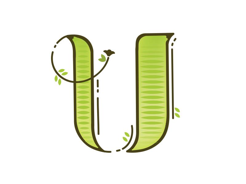 Letter U Design #2