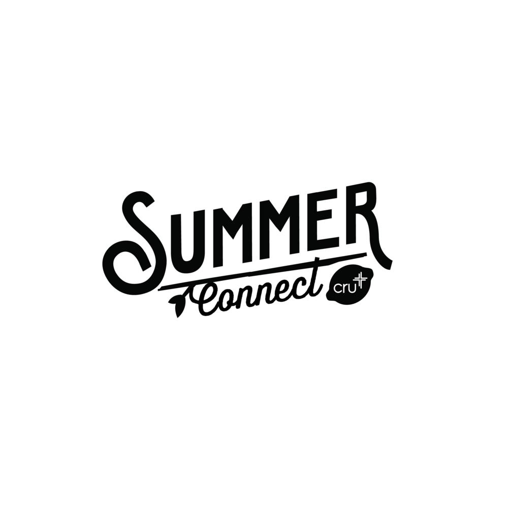 CRU Summer Connect Logo Design