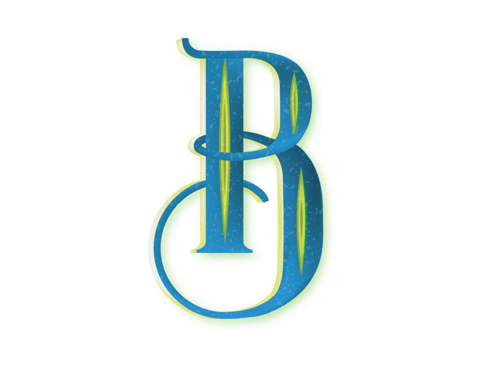Letter B Design #2