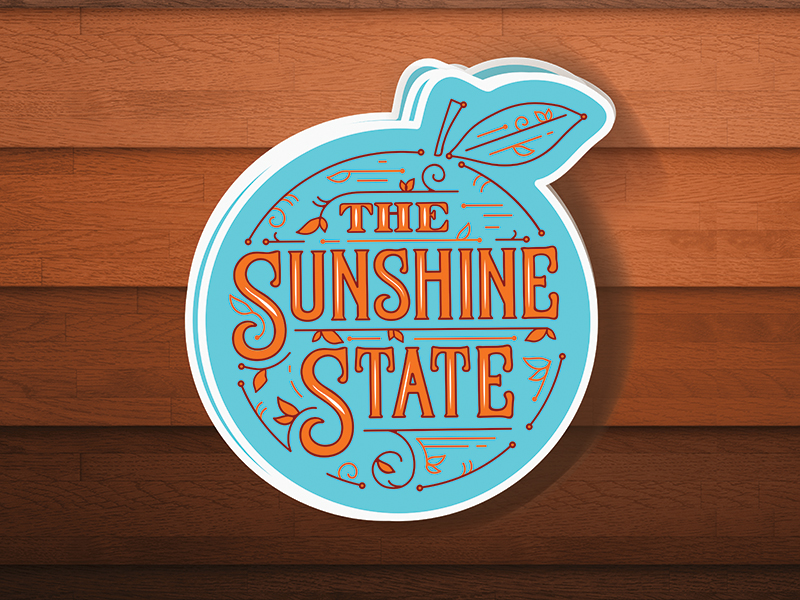Sunshine State Sticker