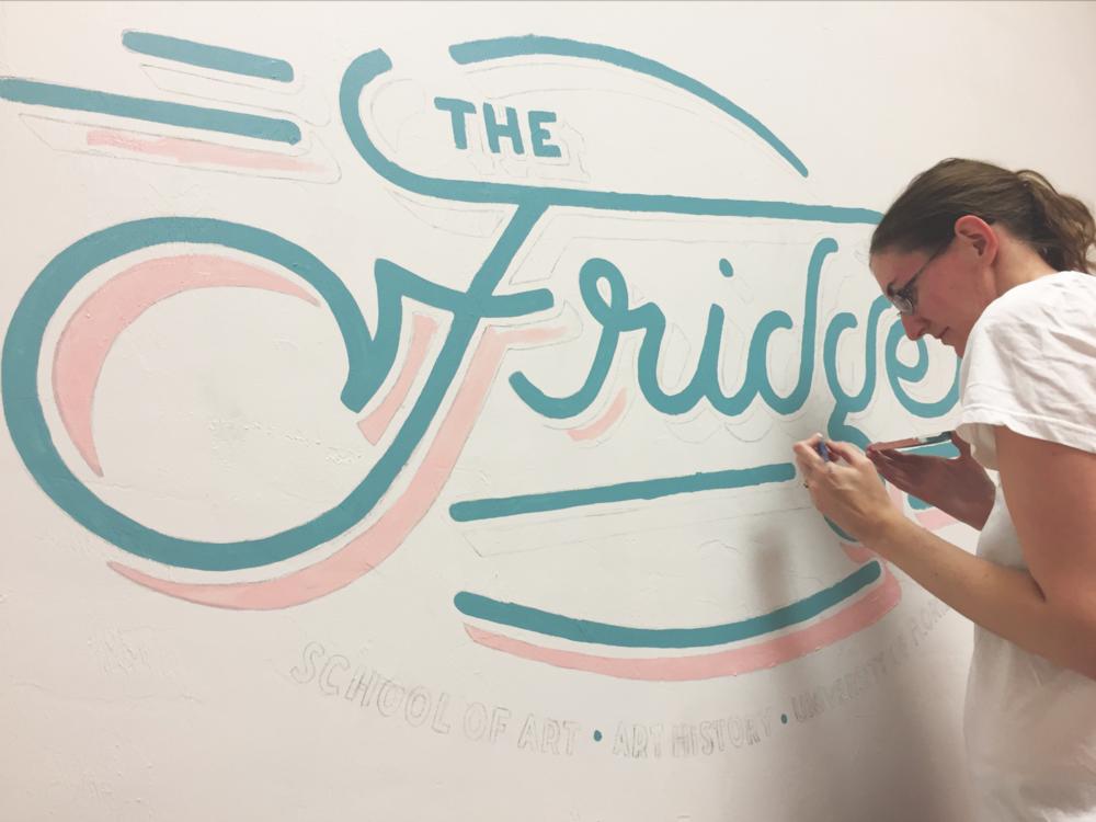 The Fridge Logo