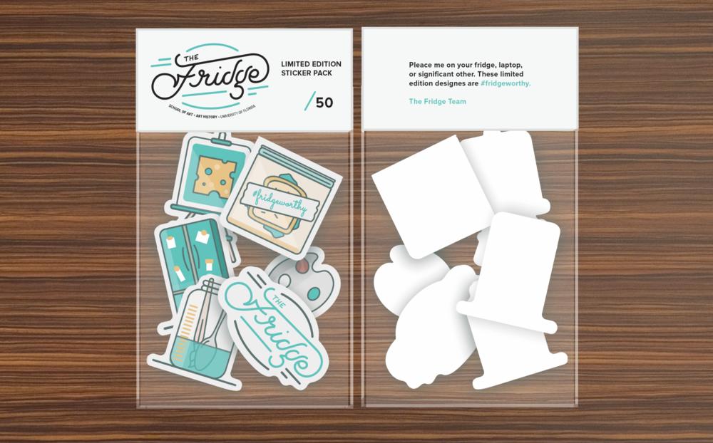 The Fridge Stickers by Caroline Staniski