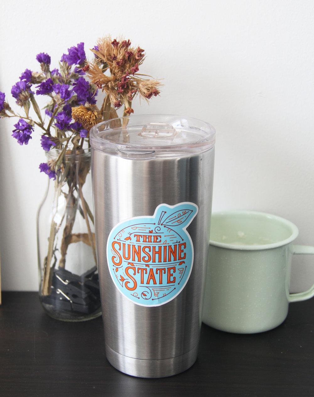 Sunshine State Sticker by Caroline Staniski