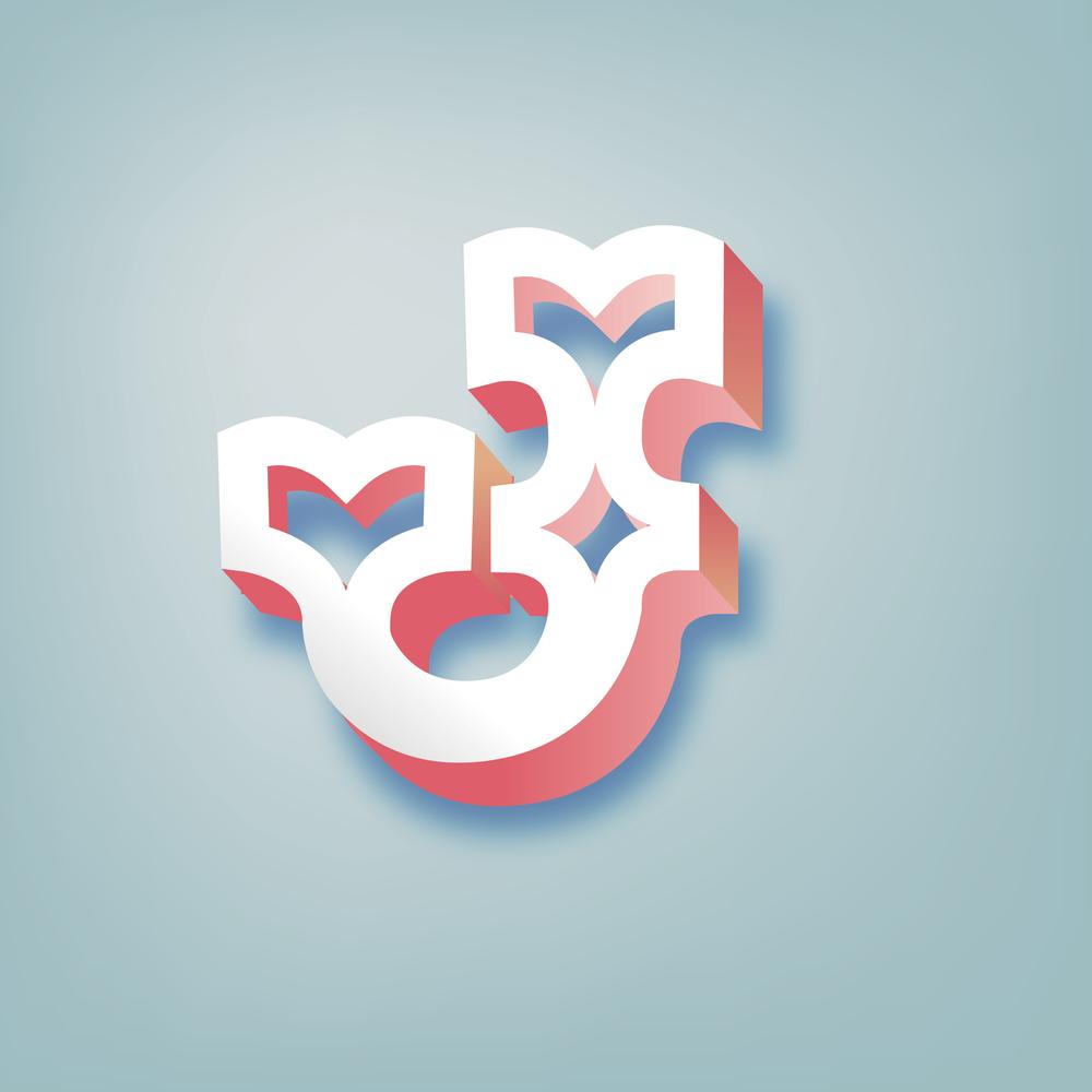 Letter J Design #3