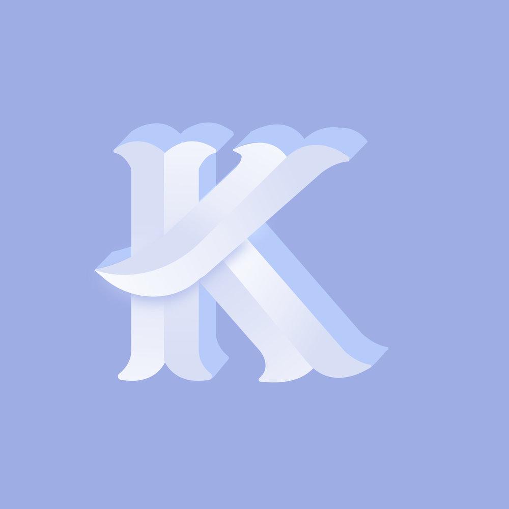 Letter K Design #2