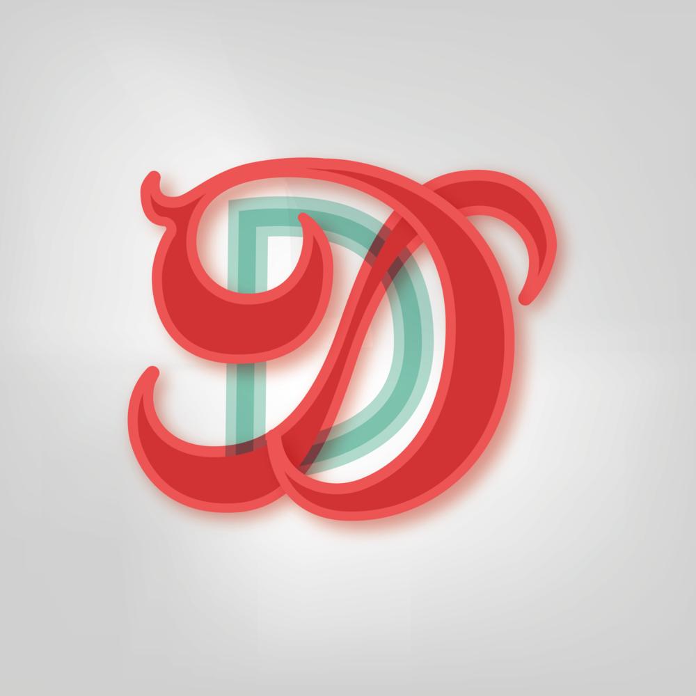 Letter D Design #2