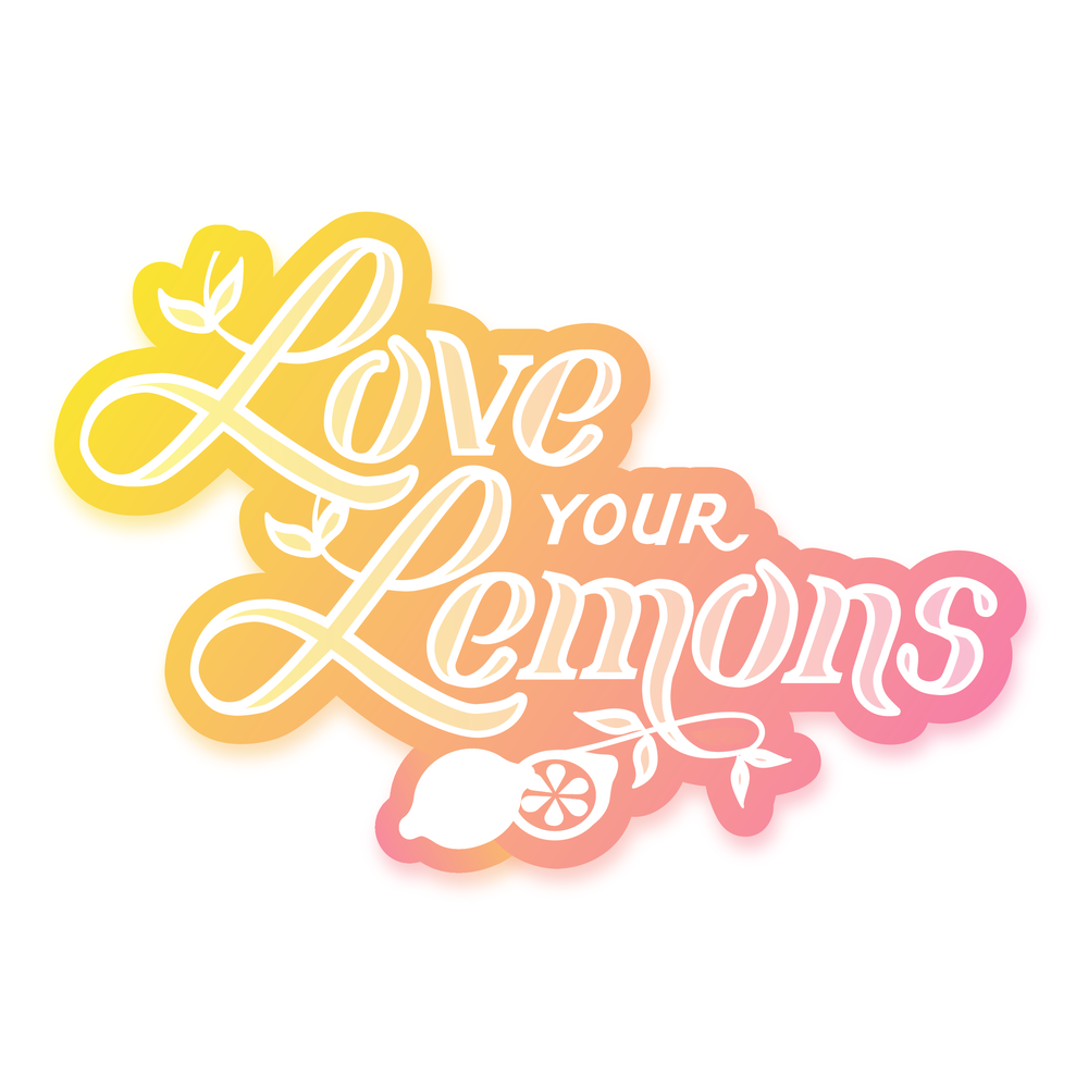 Love Your Lemons Logo Design