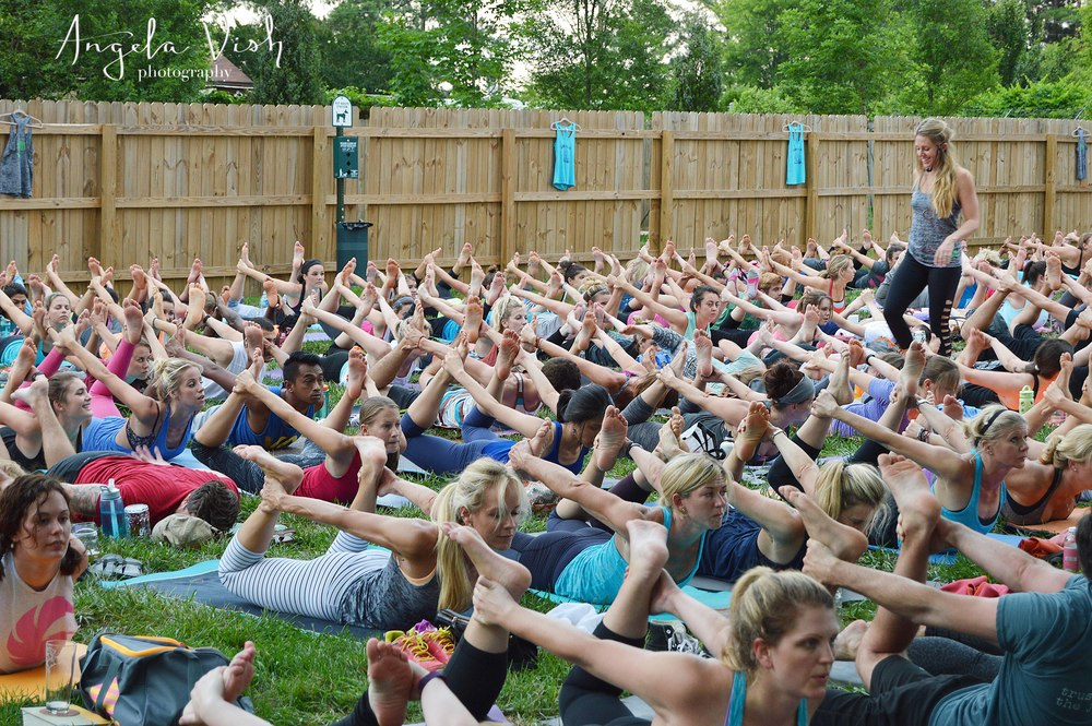 Connecting Charlotte Through Yoga