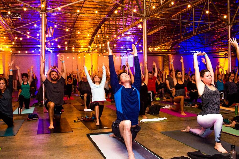 Winter Yoga in Charlotte
