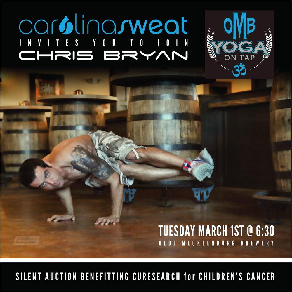 Chris Bryan Yoga On Tap