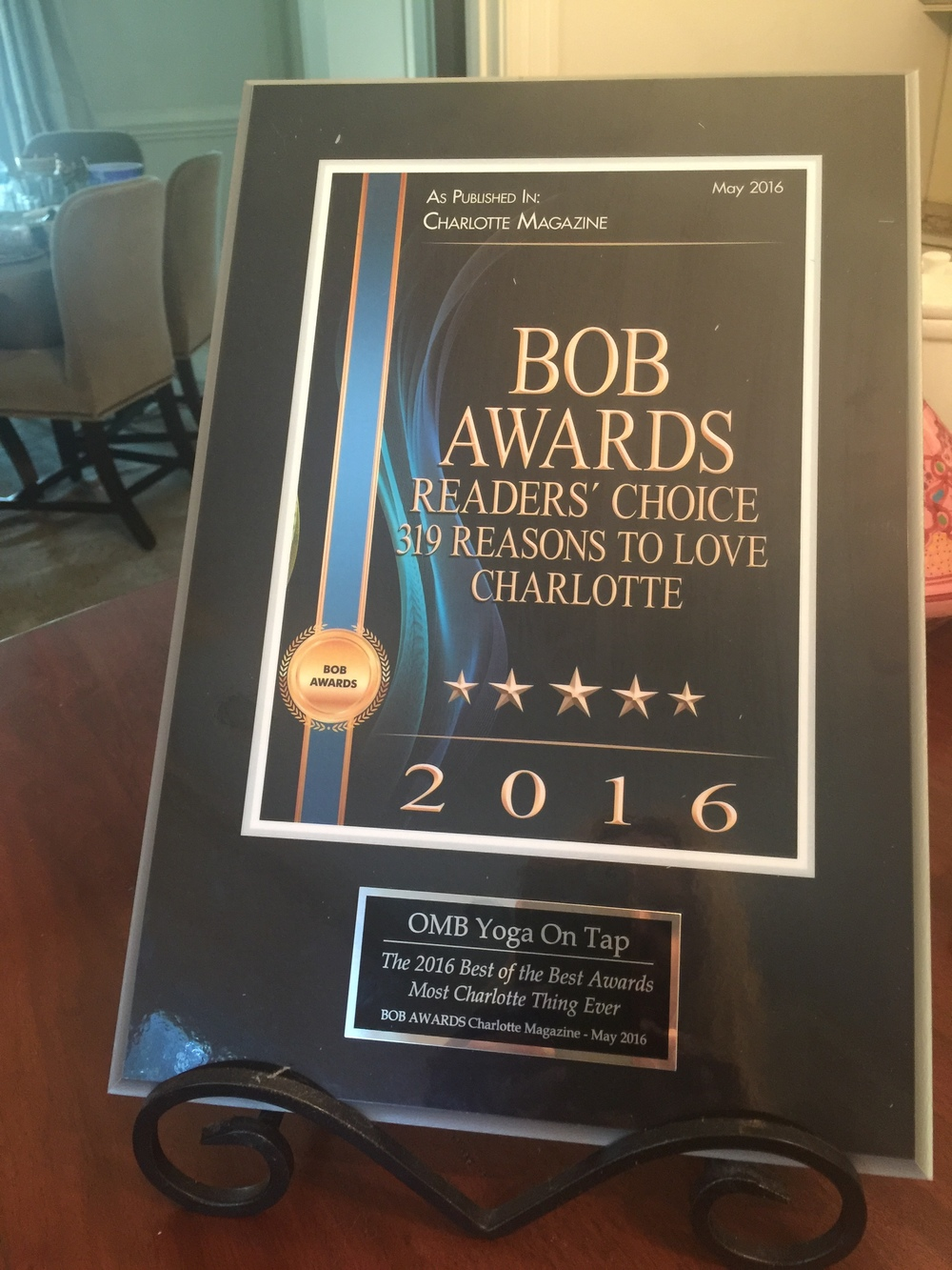 Charlotte Bob Awards