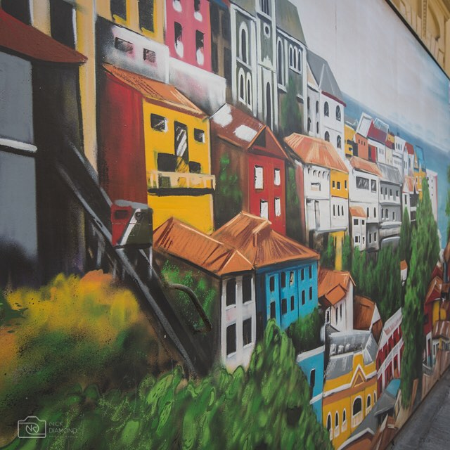 "Get lost in the steep narrow streets of Valparaiso or ""Valpo"" as you experience the world renown street art, history and vibrant character of this UNESCO heritage city. Valparaíso's (founded 1536) glory include Latin America's oldest stock exchange, the continent's first volunteer fire department, Chile's first public library, and the oldest Spanish language newspaper in continuous publication in the world, El Mercurio de Valparaíso."