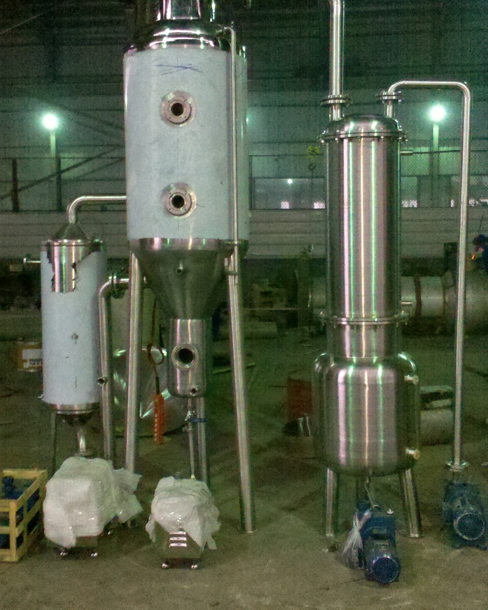 100kg single-effect forced circulation evaporator crystallizer for wastewater (1).jpg
