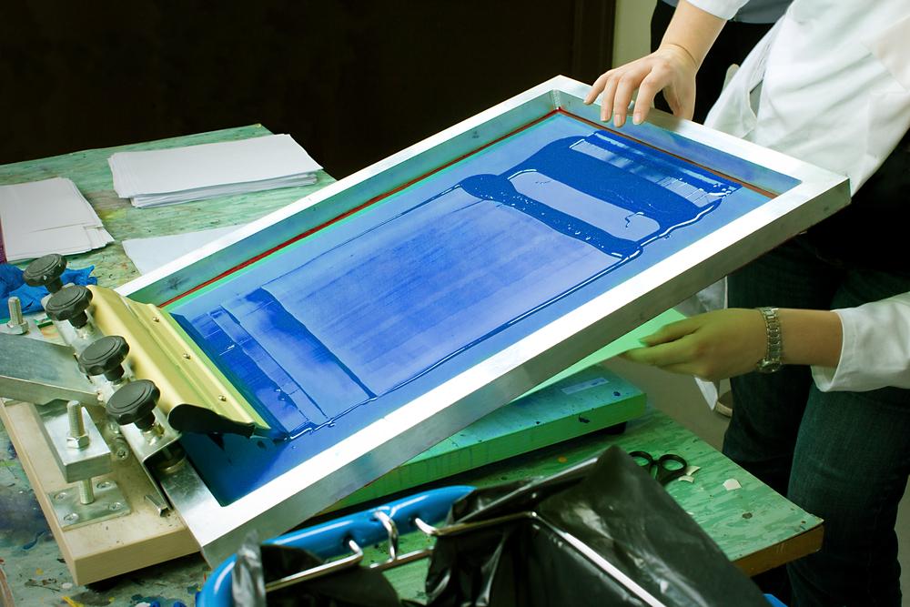 Silk screening
