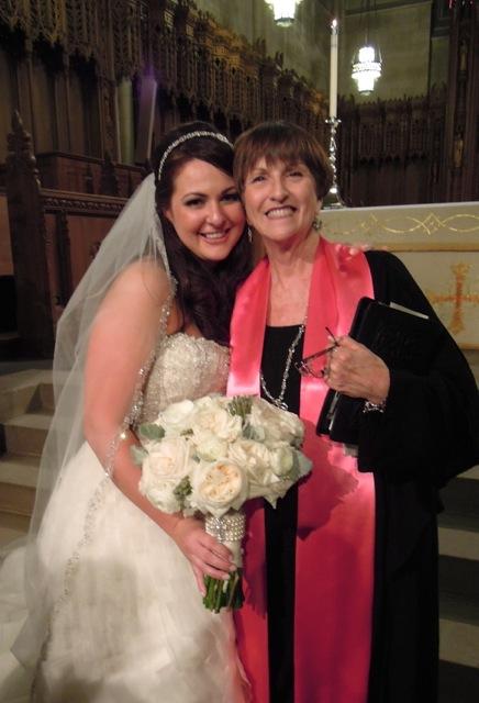 A Duke Chapel bride