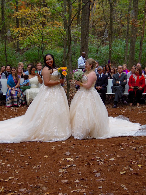 "Two brides say ""I Do"""